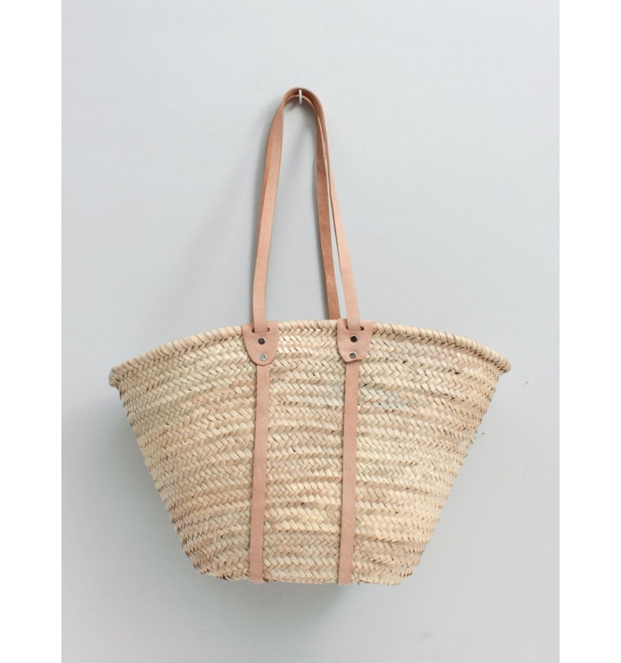 Basket Bardot natural beige, Bohemia Design, Handbags and