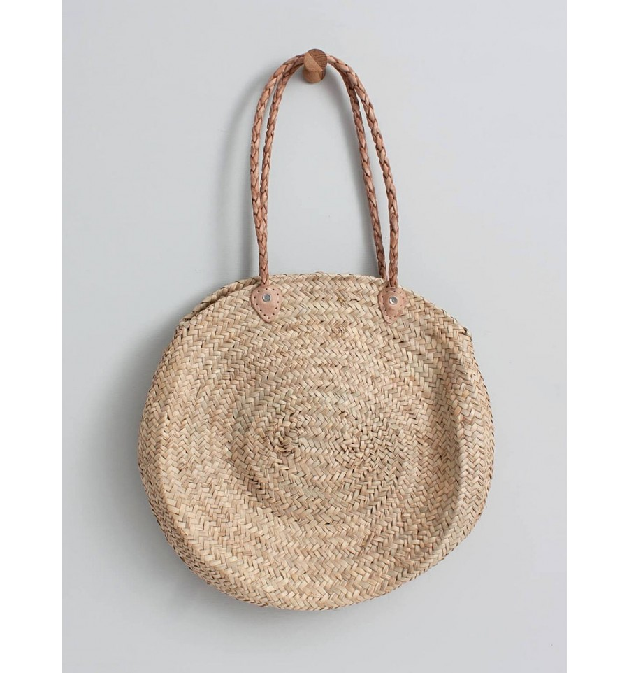 Big Roundy Basket beige, Bohemia Design, Handbags and backpacks