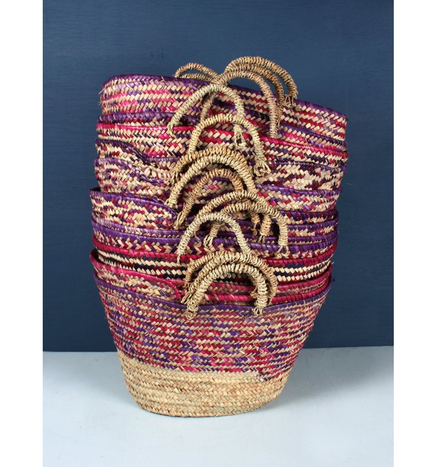 Country Colour Weave Baskets, Bohemia Design, Handbags and
