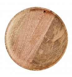 Round wooden plate 35 cm, Madam Stoltz, Kitchen