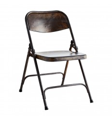 Recycled folding chair, Madam Stoltz, Furniture